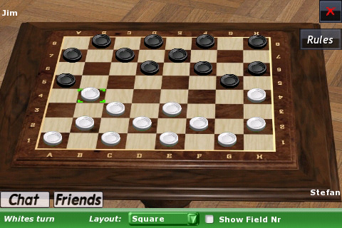 Online chinese checkers against computer
